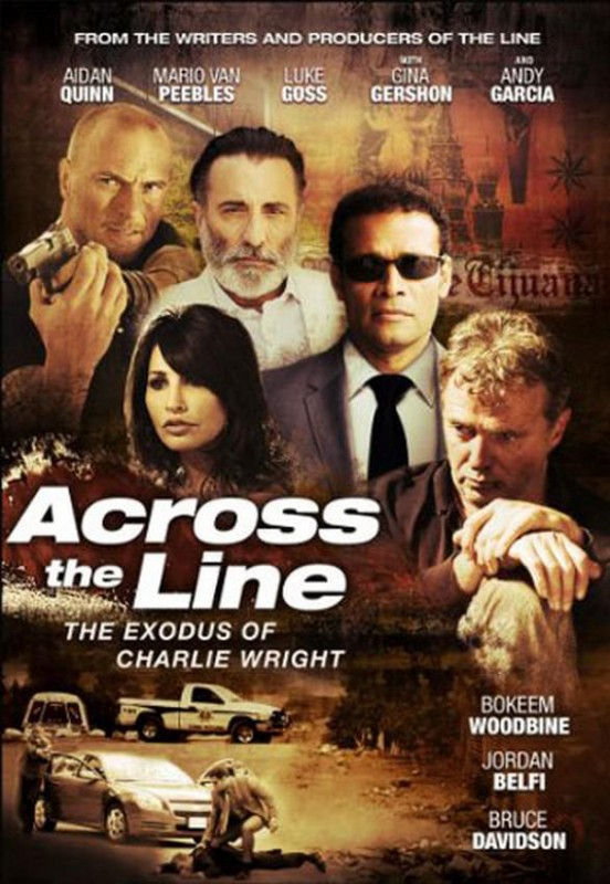 Across the line - The Exodus of Charlie Wright: la locandina