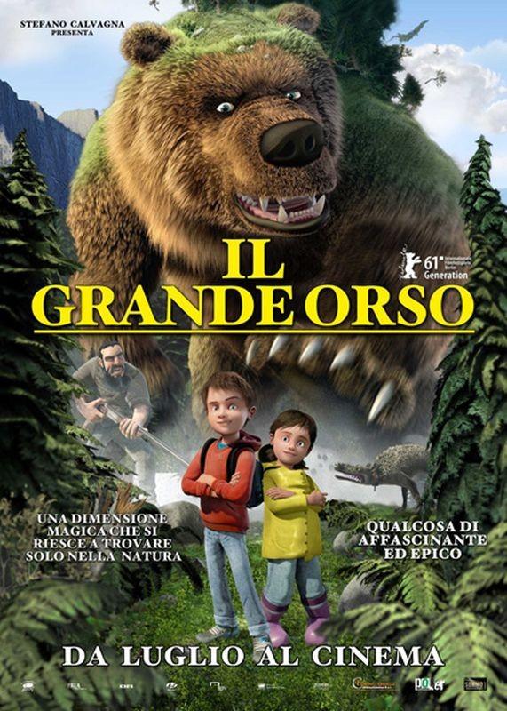 Il grande orso: la locandina italiana