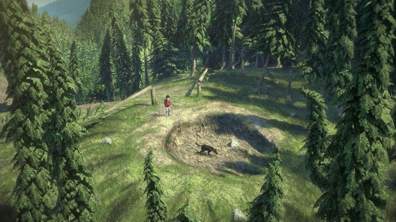 Il grande orso: una scena del film animato