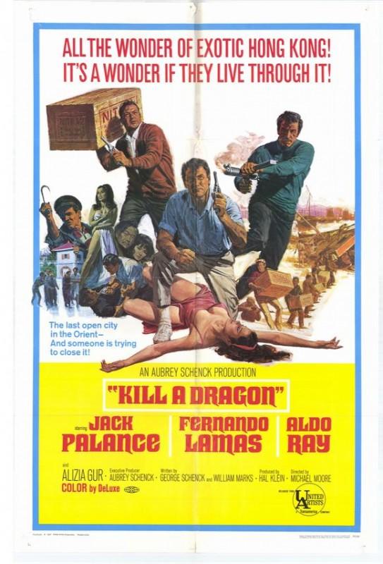 Kill a Dragon: la locandina del film