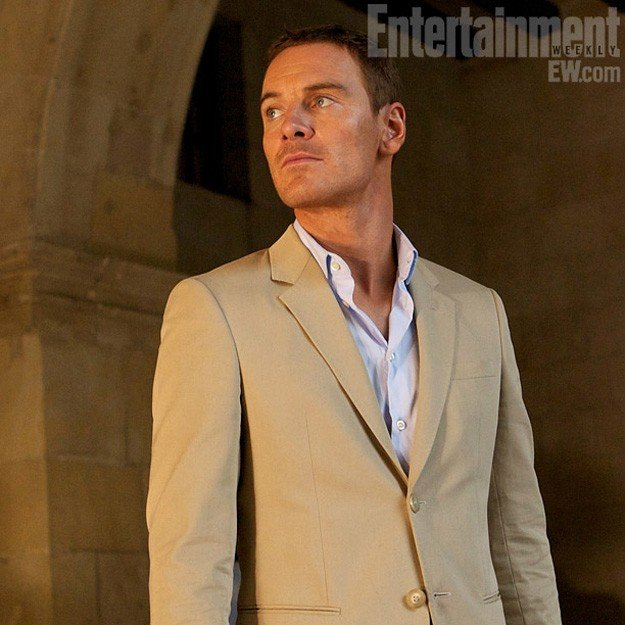 The Counselor - Il procuratore: Michael Fassbender in un'immagine pubblicitaria di Entertainment Weekly