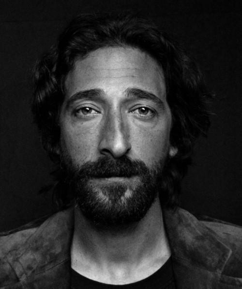 Un bel ritratto di Adrien Brody