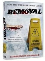 La copertina di Removal (dvd)