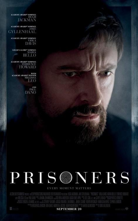 Prisoners: character poster per Hugh Jackman