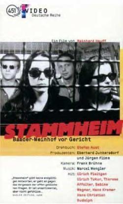 Stammheim - il caso Baader-Meinhof: la locandina del film