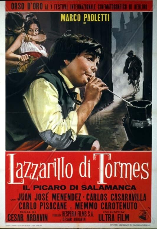 El Lazarillo de Tormes: la locandina del film