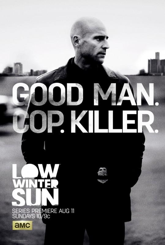 Low Winter Sun: un primo poster della serie AMC