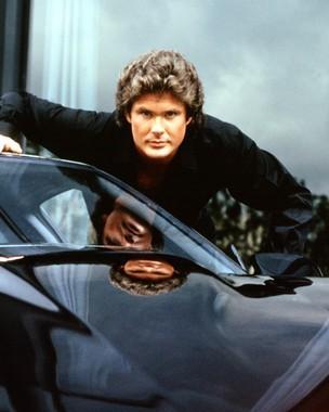 David Hasselhoff nel telefilm Supercar