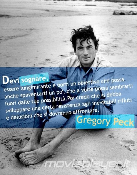 Gregory Peck: la nostra eCard: condividi sui social le immagini e frasi dei tuoi film e attori preferiti!