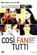La copertina di Così fan tutti (dvd)