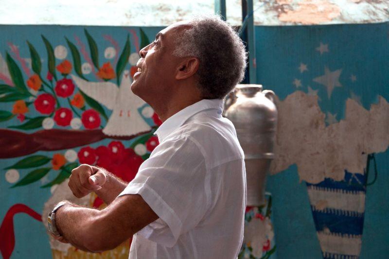Viramundo: Gilberto Gil in un momento del documentario a lui dedicato