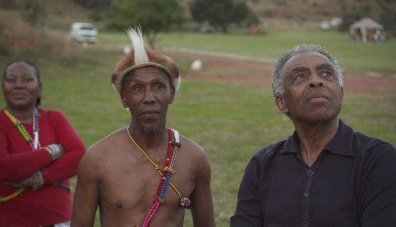 Viramundo: Gilberto Gil in una scena del documentario musicale a lui dedicato