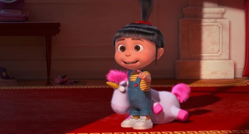 Cattivissimo me 2: la piccola Agnes in una scena