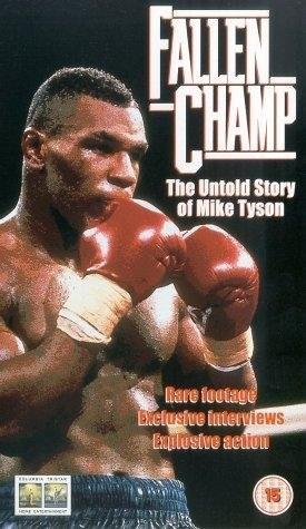 Fallen Champ: The Untold Story of Mike Tyson: la locandina del film