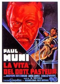 La vita del dottor Pasteur: la locandina del film