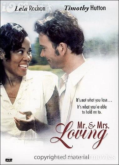 Mr e Mrs Loving: la locandina del film