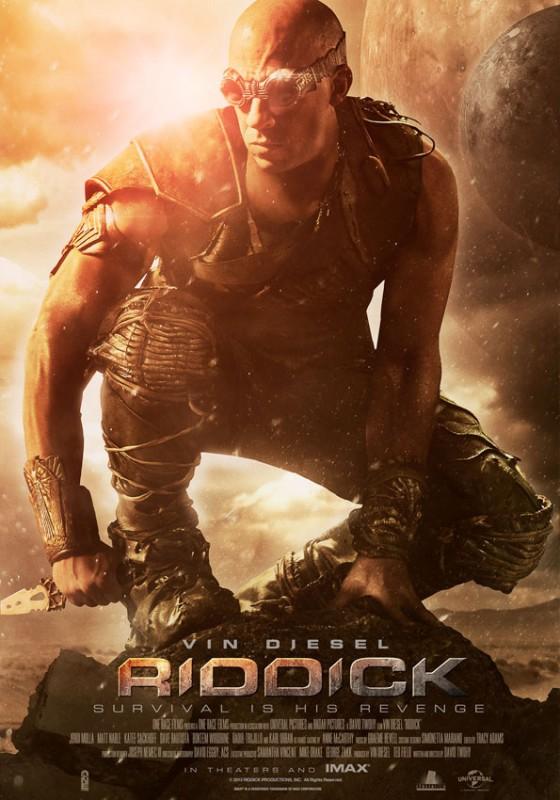 Riddick: la nuova locandina ufficiale del film