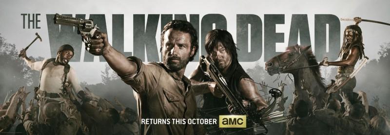 The Walking Dead: il nuovo poster per il Comic-Con 2013