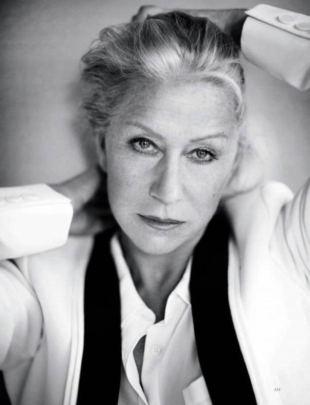 Un ritratto di Helen Mirren