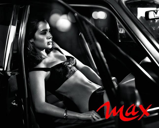 Bérénice Marlohe sul magazine MAX di luglio 2013
