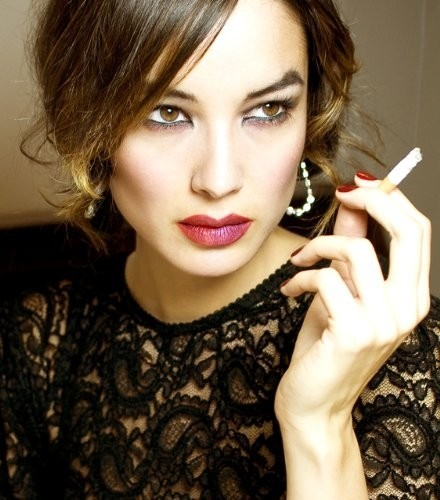 l'attrice e modella Bérénice Marlohe