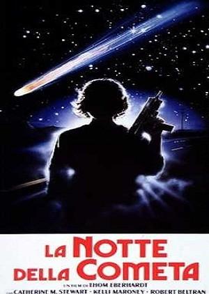 La notte della cometa: la locandina del film