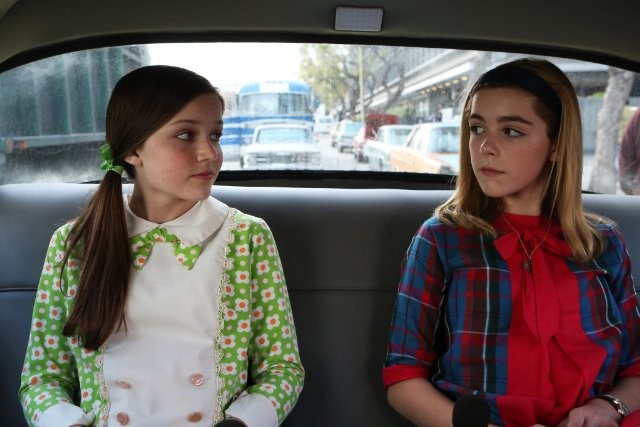 Mad Men: Kiernan Shipka e Cameron Protzman nell'episodio Favors