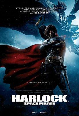 Space Pirate Captain Harlock: la nuova locandina