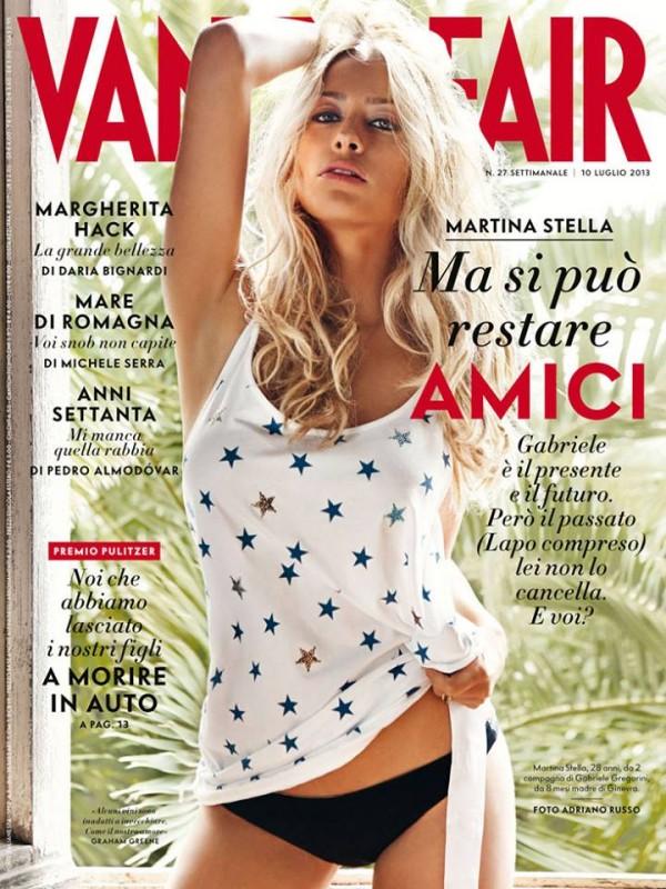 Martina Stella su Vanity Fair - luglio 2013