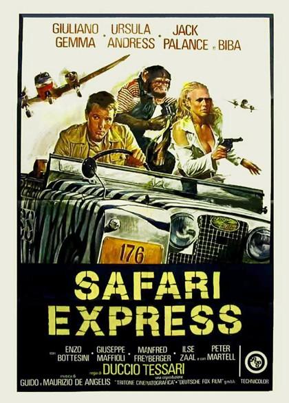 Safari Express: la locandina del film