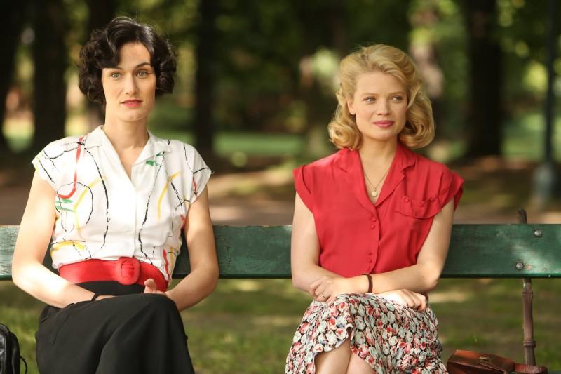 Clotilde Hesme con Mélanie Thierry in Pour une femme