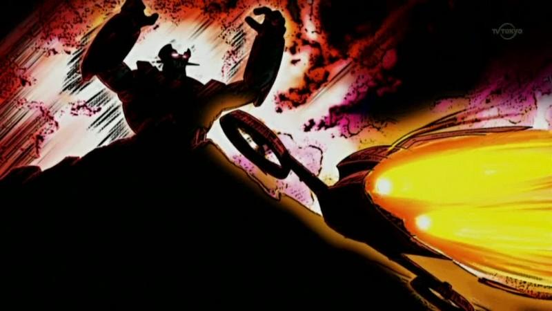 Mazinger Edition Z: The Impact: un'immagine tratta dall'anime