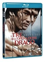 La copertina di I tre dell\'operazione drago - 40° anniversario (blu-ray)