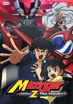 La locandina di Mazinger Edition Z: The Impact