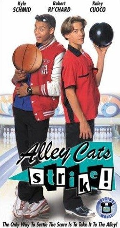La squadra di bowling Alley Cats: la locandina del film
