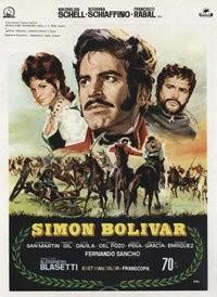 Simon Bolivar: la locandina del film