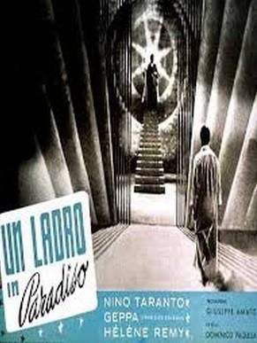 Un ladro in paradiso: la locandina del film