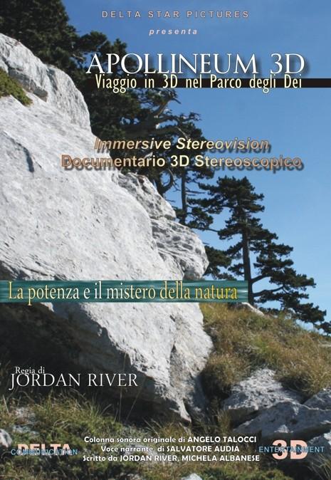 Manifesto di APOLLINEUM 3D. Viaggio in 3D nel Parco degli Dei by Delta Star Pictures
