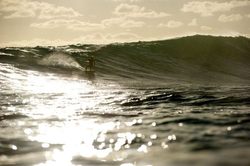 Drift: una suggestiva scena del film tra le onde