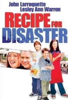 Ricetta per un disastro: la locandina del film