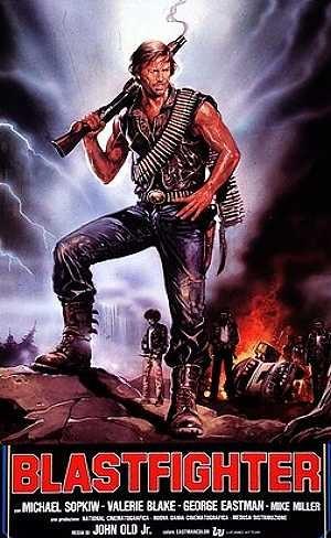 Blastfighter: la locandina del film