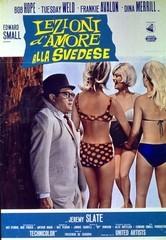 Lezioni d'amore alla svedese: la locandina del film