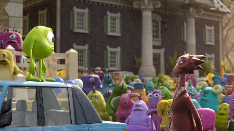 Monsters University: un'immagine tratta dal film animato della Disney