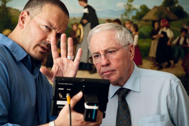 L'expérience Blocher: il regista Jean-Stéphane Bron sul set con il leader politico svizzero Christoph Blocher