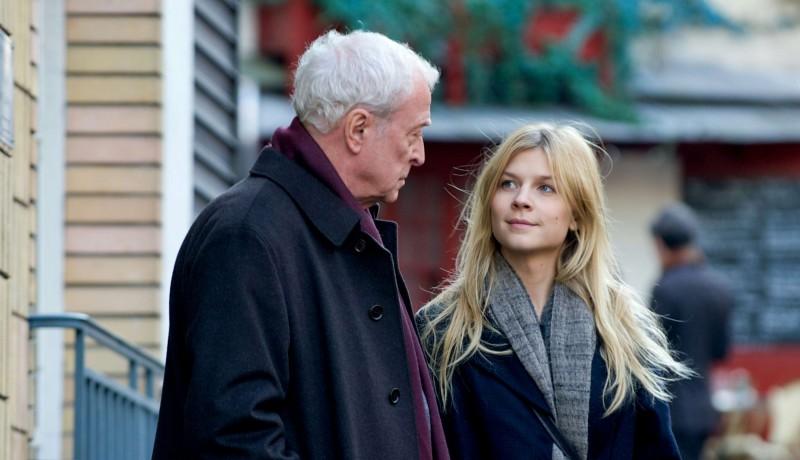 Mr. Morgan's Last Love: Michael Caine e Clémence Poésy in una scena