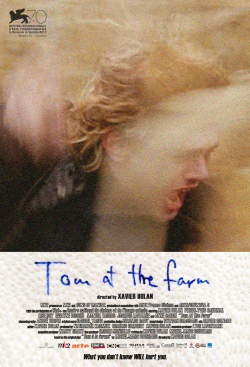 Tom At The Farm: la locandina del film