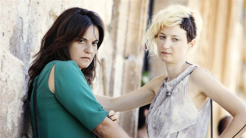 Via Castellana Bandiera: Alba Rohrwacher in una scena del film con Emma Dante