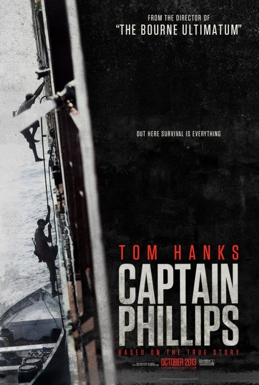 Captain Phillips: teaser poster 1