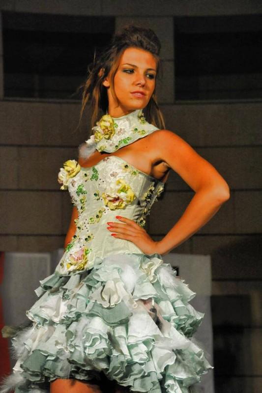 Charlie, ospite canoro della serata, sfila a Miss Sportiva Trentino Alto Adige 2013