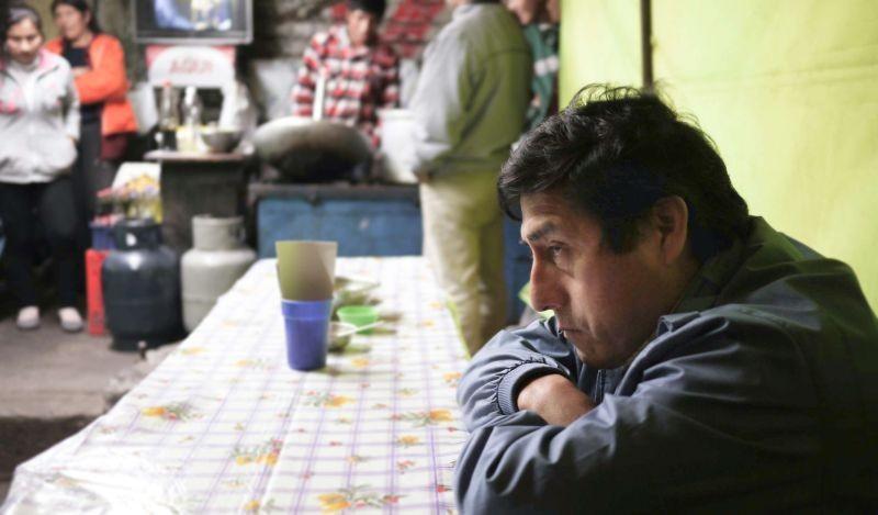 El mudo: Fernando Bacilio in una scena del film